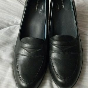 Rockport adiPrene by Adidas black loafers
